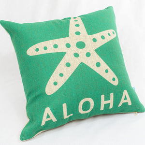 Aloha Starfish Pillow Case