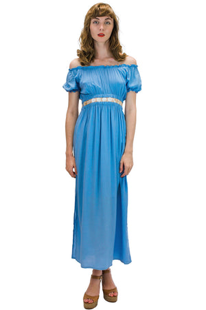 Angel Long Dress Blue