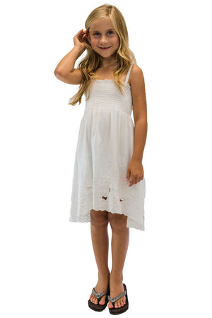 Girls Waikiki Moon Dress White