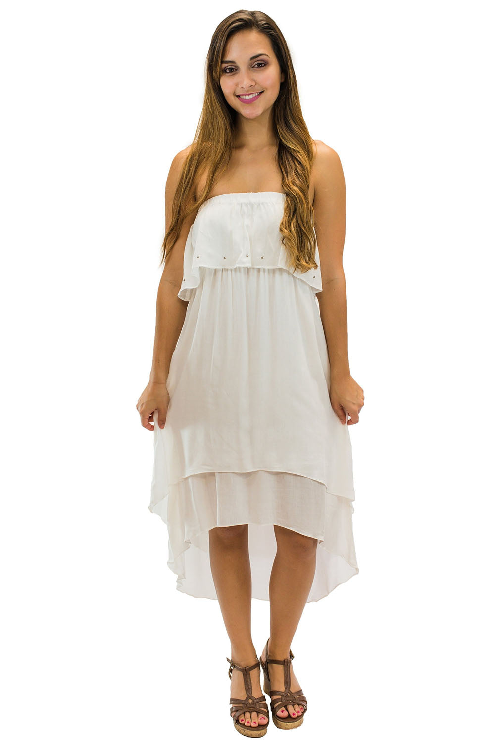 Kailua Dress White