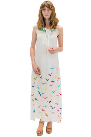 Manu Long Dress White