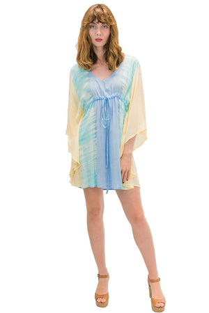 Ocean Tunic in Bold Yellow