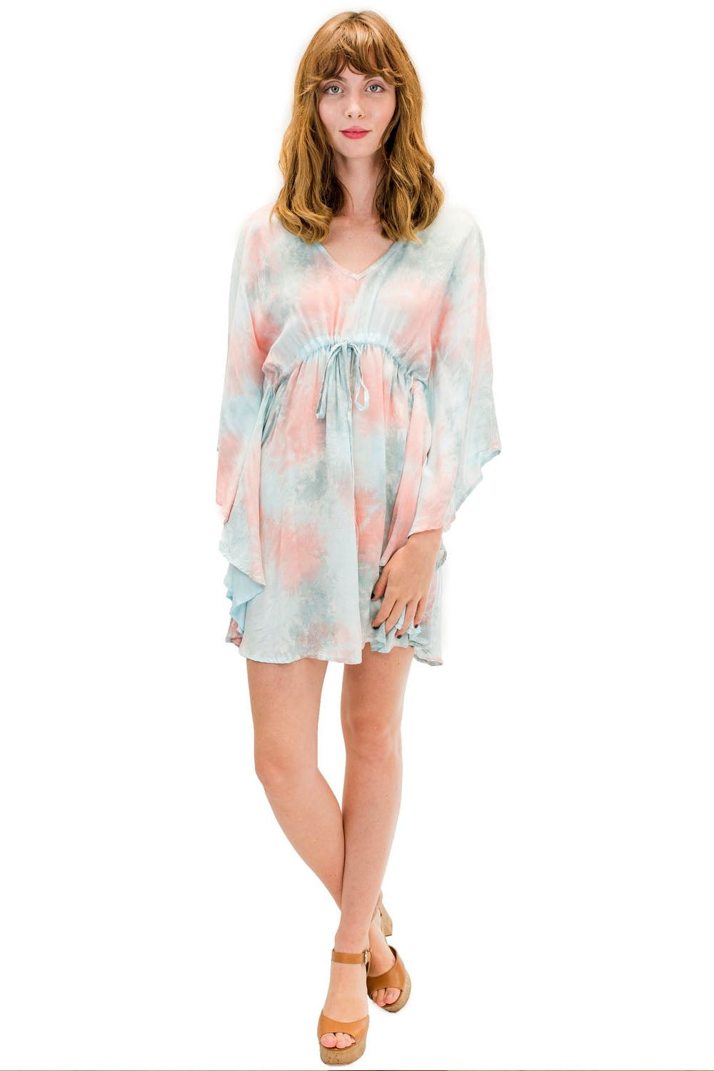 Ocean Tunic in Smoke Coral