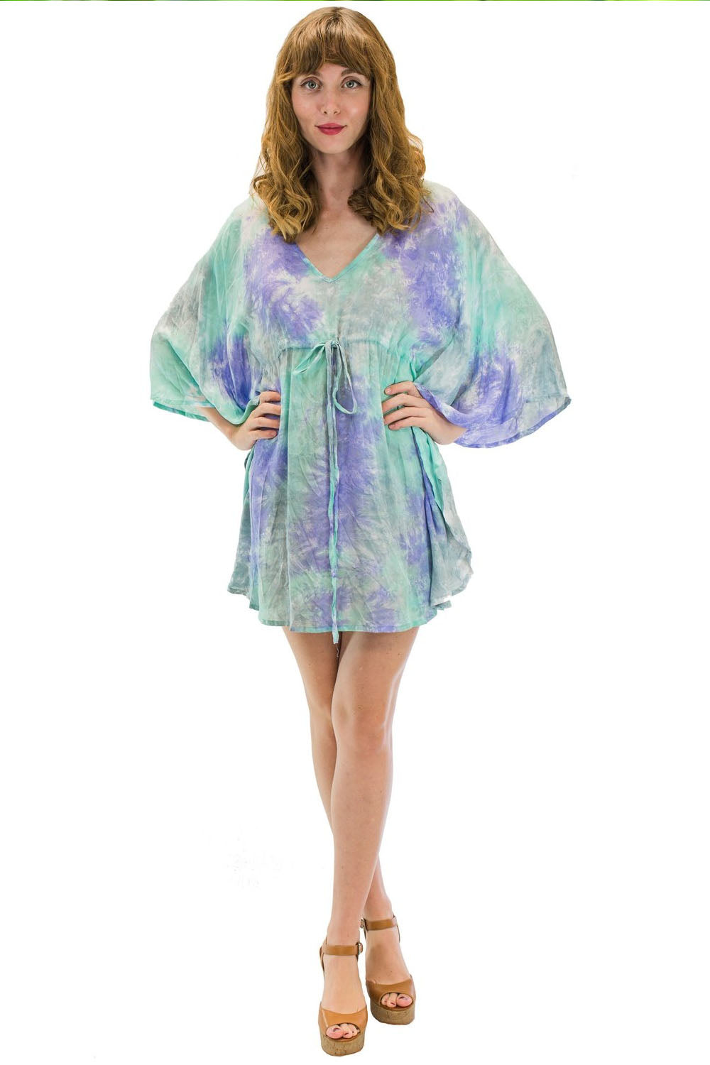Ocean Tunic in Smoke Purple