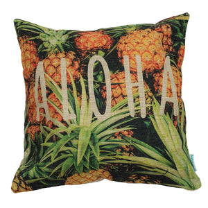 Pineapple Print Pillow Case