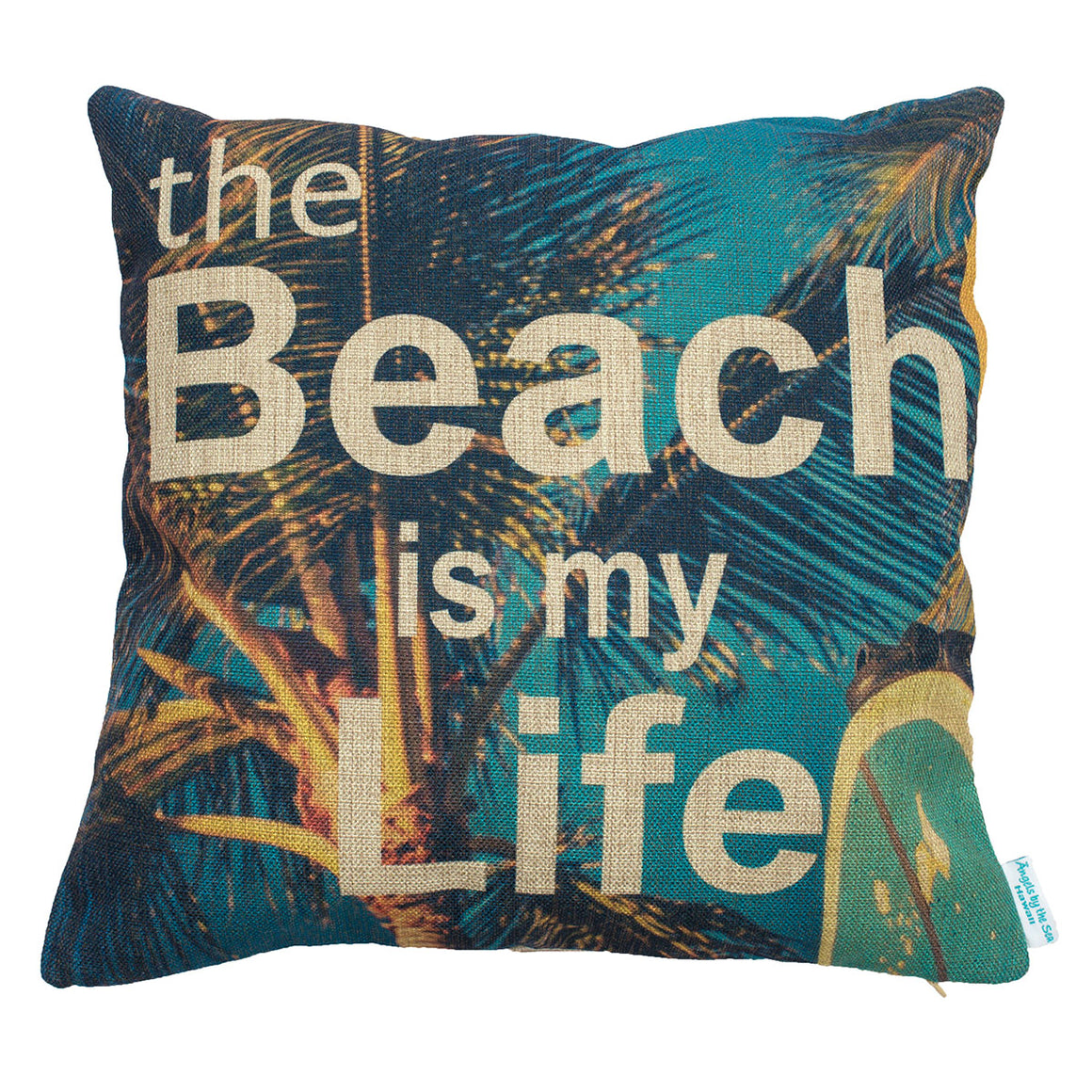 The Beach is My Life Pillow Case