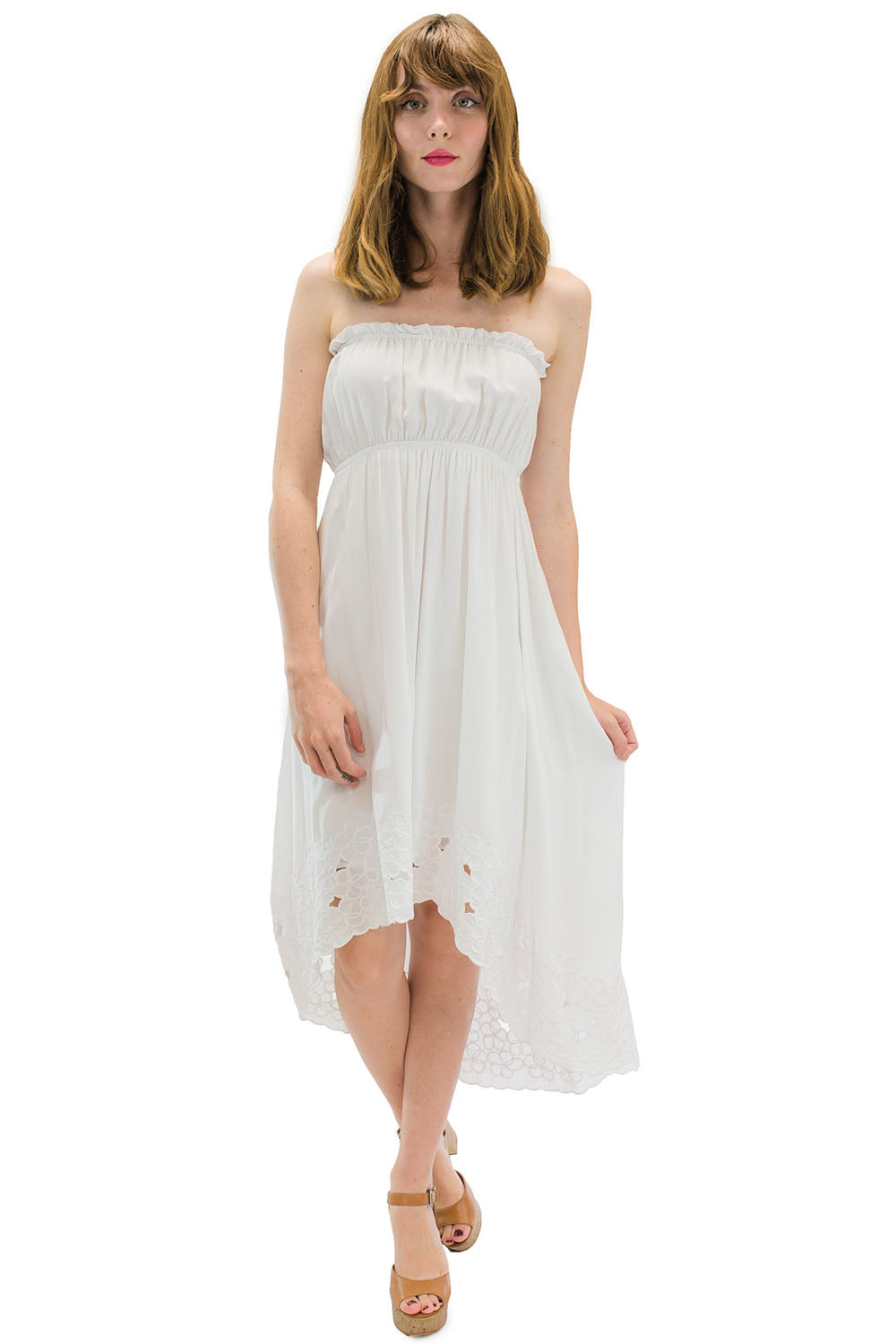 Waikiki Moon Dress White