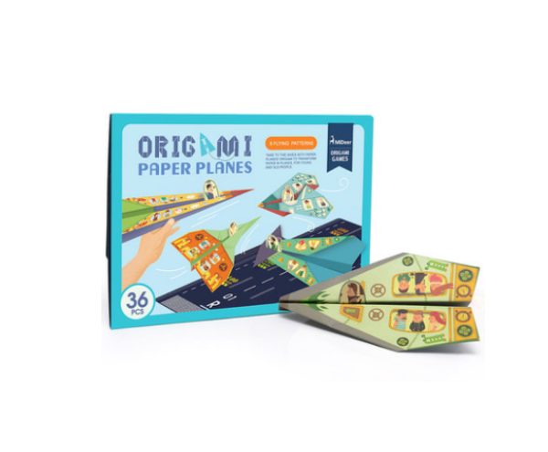 Origami Paper Airplane Kit