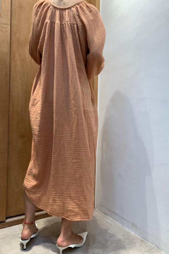 Natural Textured Dress