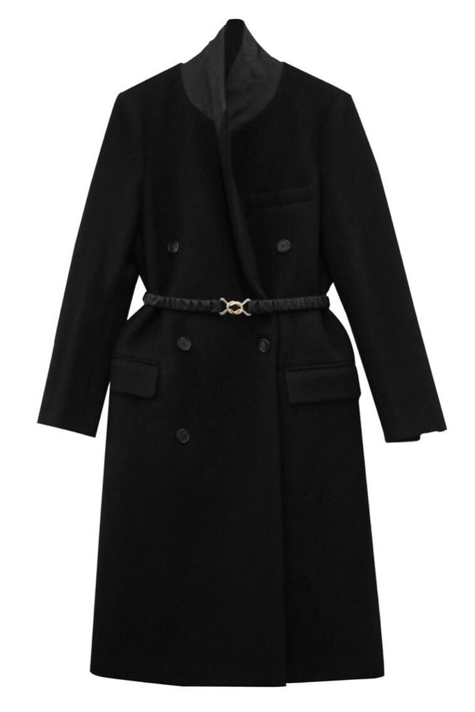 Belted Tailored Coat