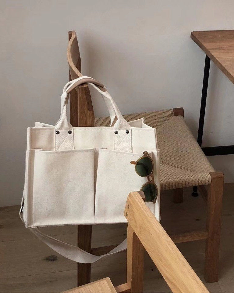 Canvas Tumbler Bag