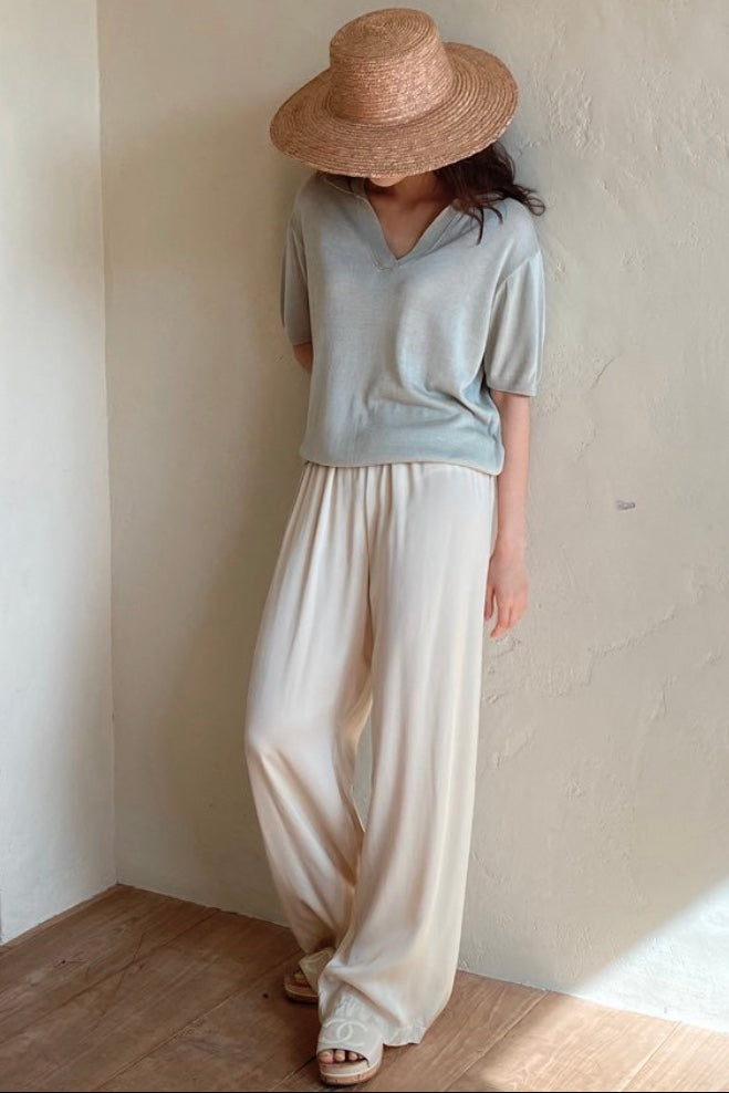 Summer Collar Knit