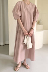 Tess Volume Sleeve Dress