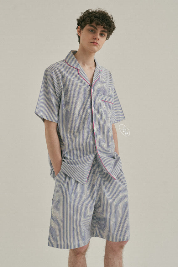 Blue Mountains Short Pajama Set (His)