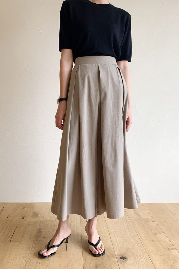 Pleat Skirt Pants