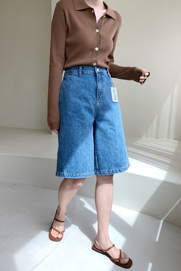 Cone Denim Bermuda Shorts