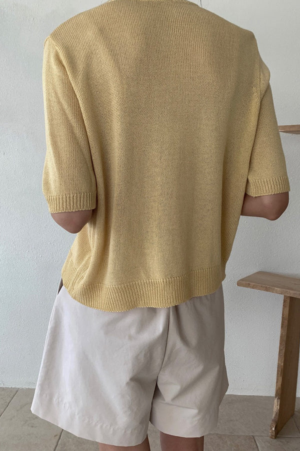 Venice Short Sleeve Cardigan