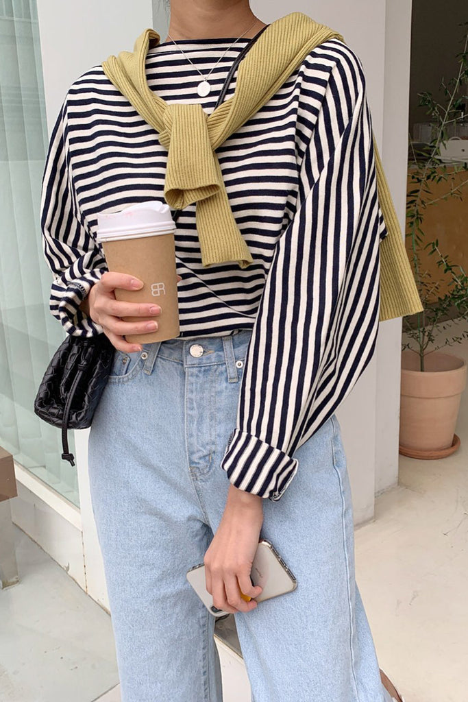 Saint Stripe Top