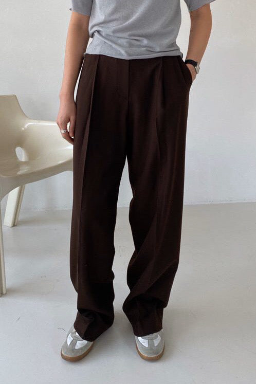Winter Pintuck Slacks