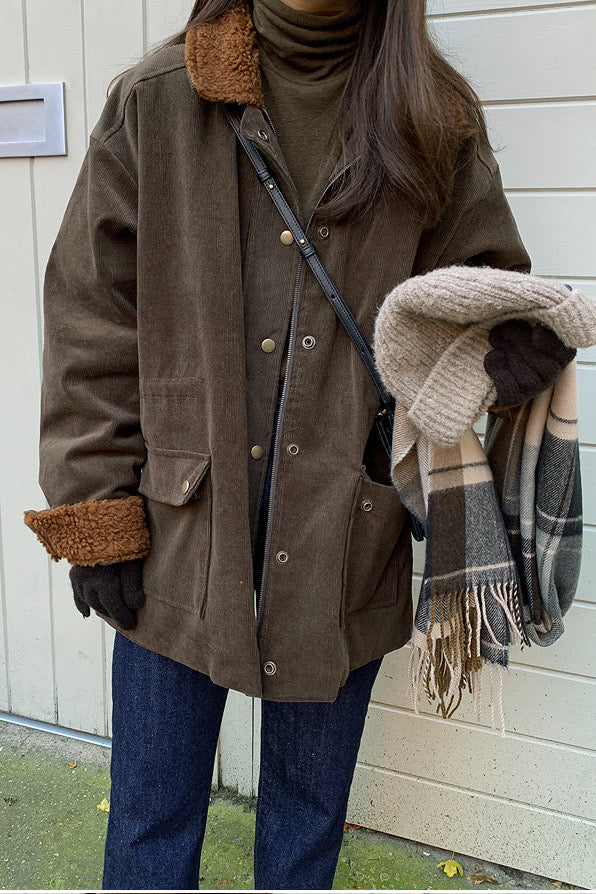 Warm Corduroy Jacket