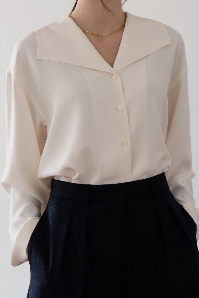 French Collar Blouse