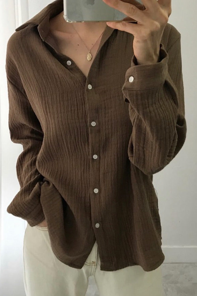 Autumn Cotton Shirt