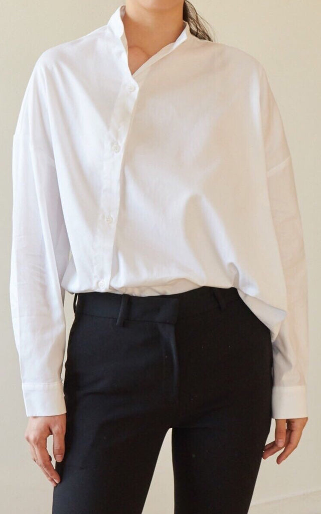 Asymmetrical Shirt (White)