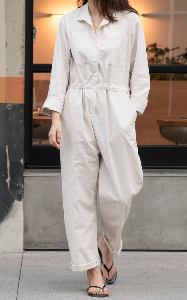 Cotton Jumpsuit