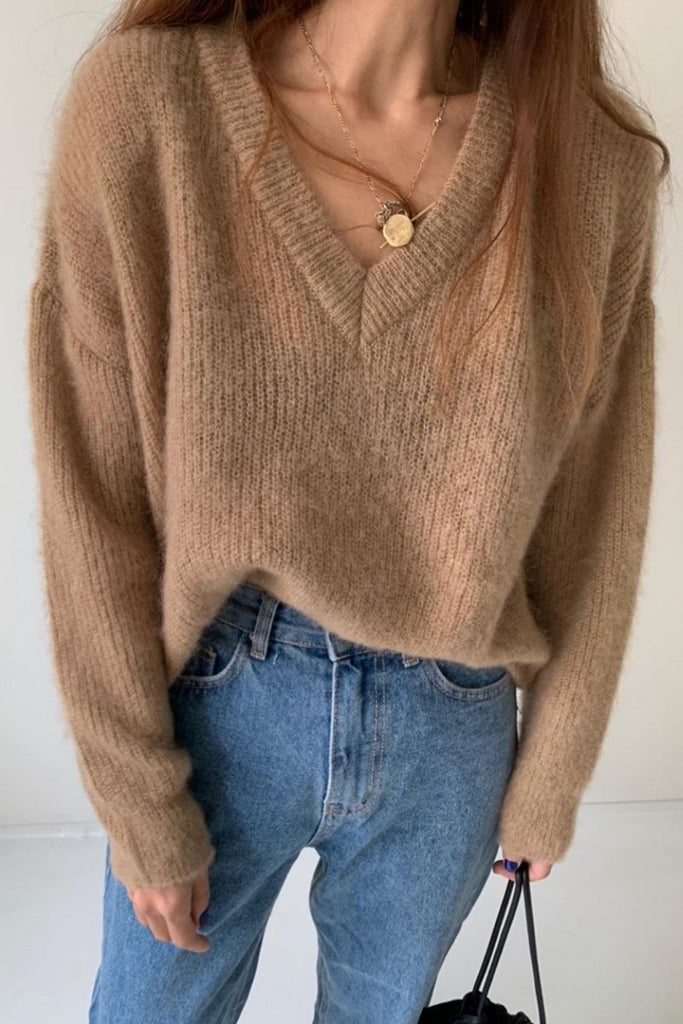 Light Weight Mohair Sweater
