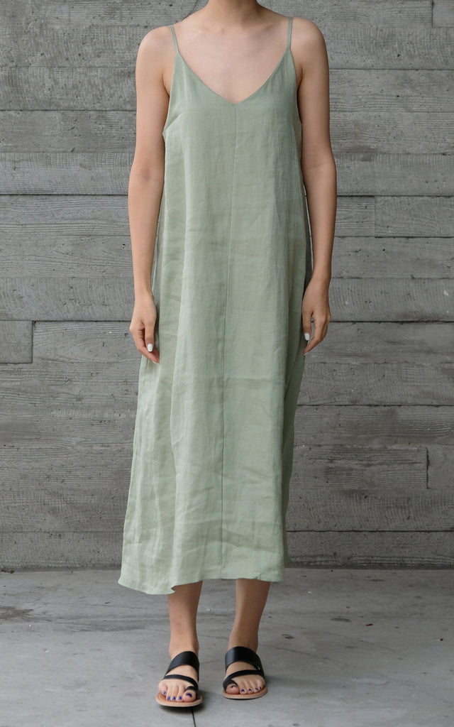 Two Way Linen Dress