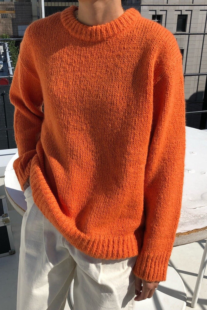Color Round Sweater