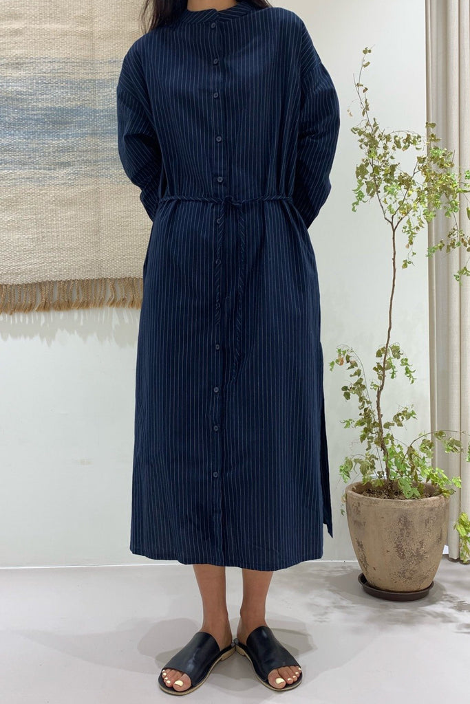 Henley Stripe Dress