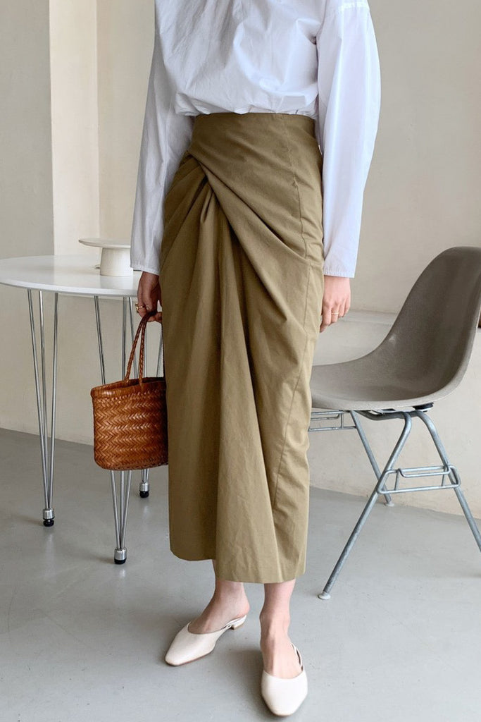 Twist Wrap Skirt
