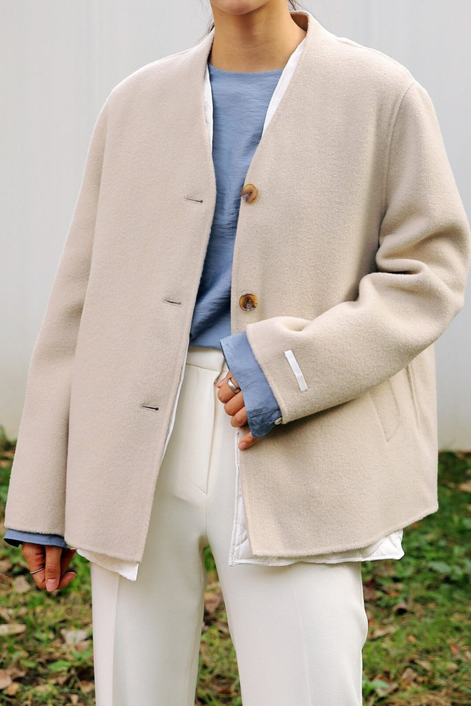 Our Handmade Coat With Goose Down Inner