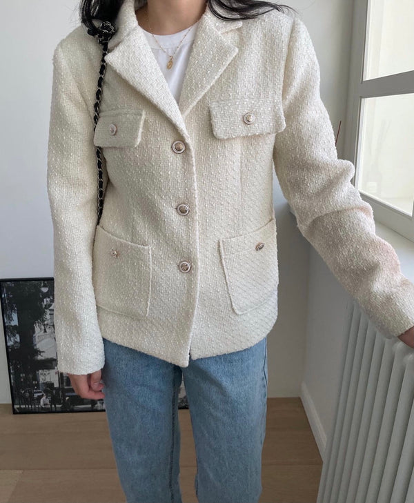S/S Tweed Jacket