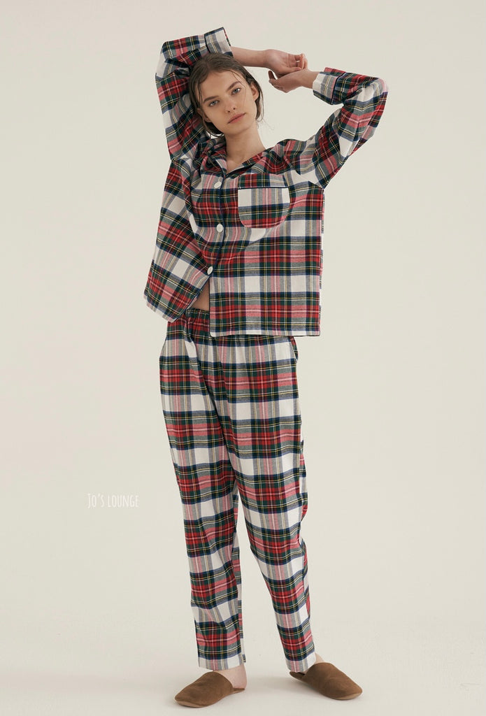 Royal Tartan Pajama Set (Female)