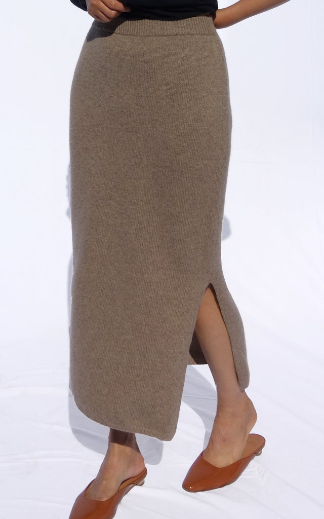 Cashmere Sweater Skirt
