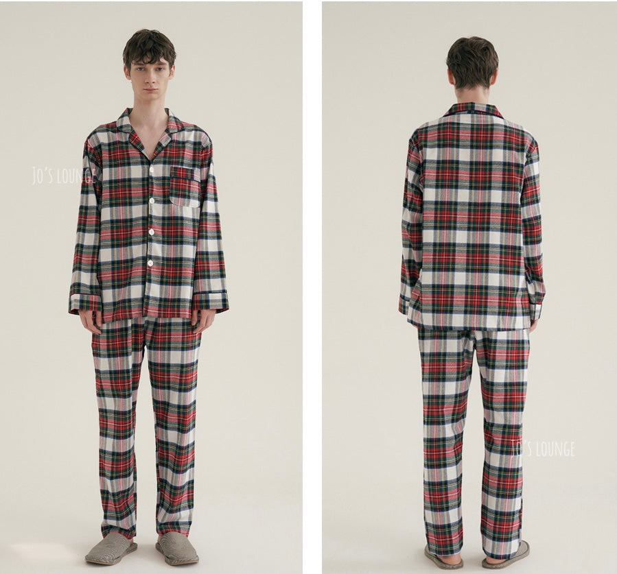 Royal Tartan Pajama Set (Male)