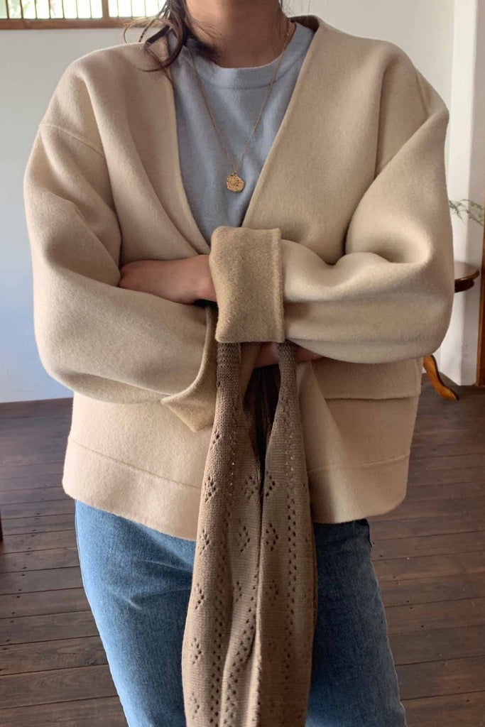 Handmade Collarless Jacket