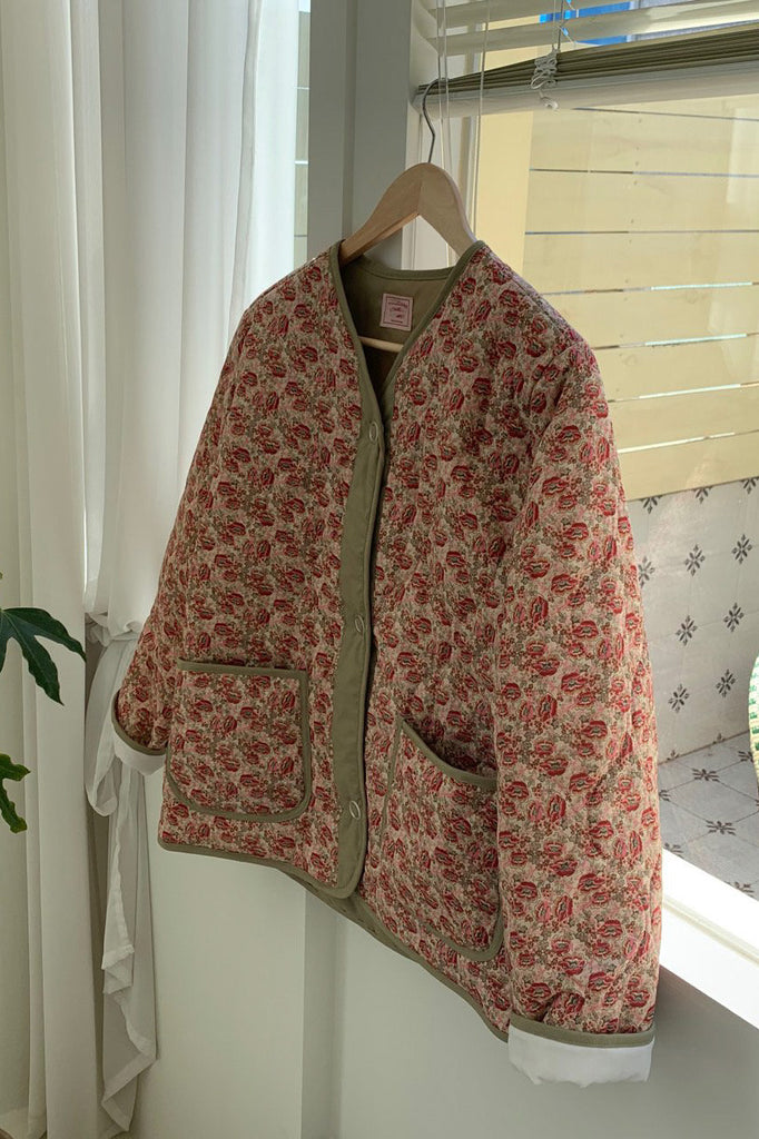 Printed Quilting Jumper