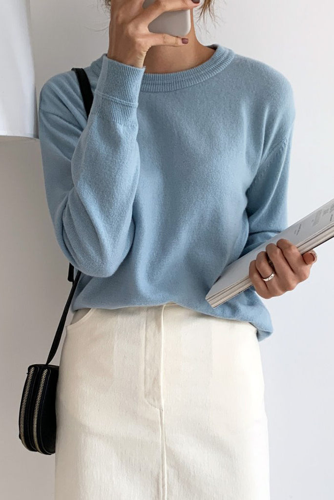 Cashmere Basic Knit