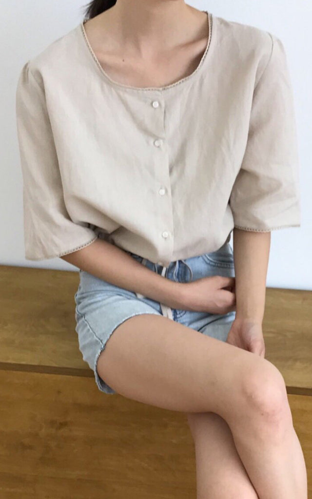 Cotton Crop Blouse