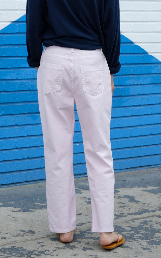 Light Pink Boyfriend Jeans