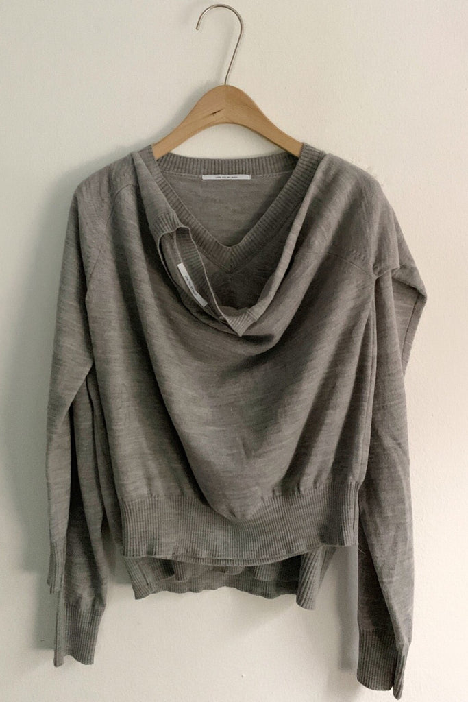 Attached Two Way Sweater