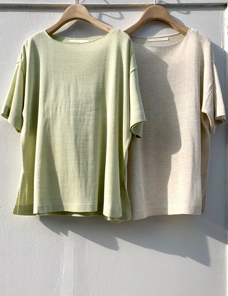 Linen Easy Top & Short Set
