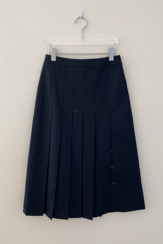 Autumn Pleated Skirt