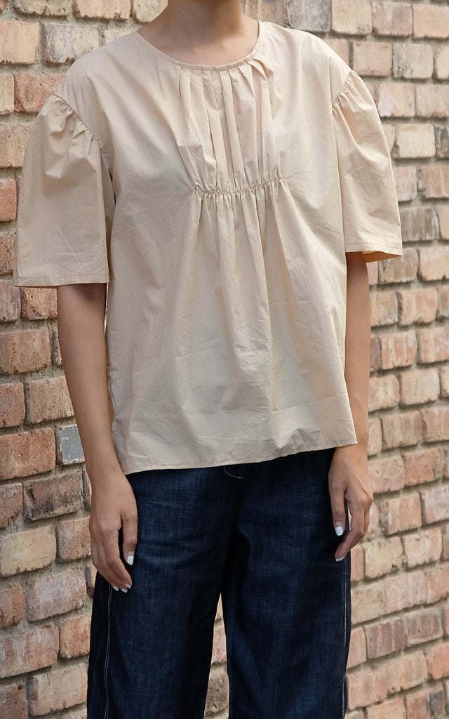 Summer Pintuck Blouse
