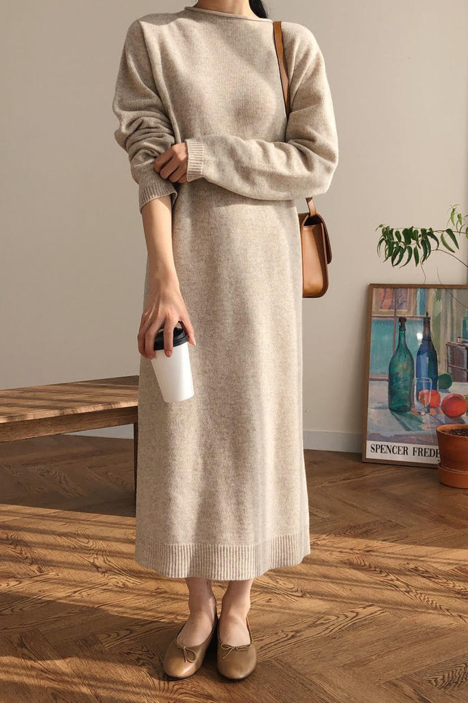 Cashmere Long Dress
