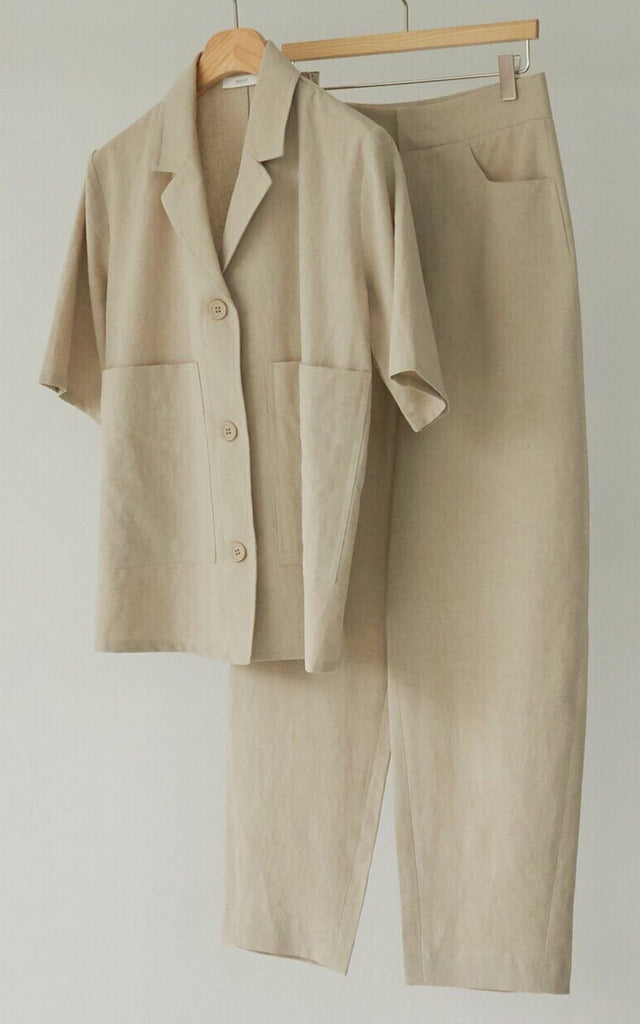 Linen Set (Jacket & Trouser)