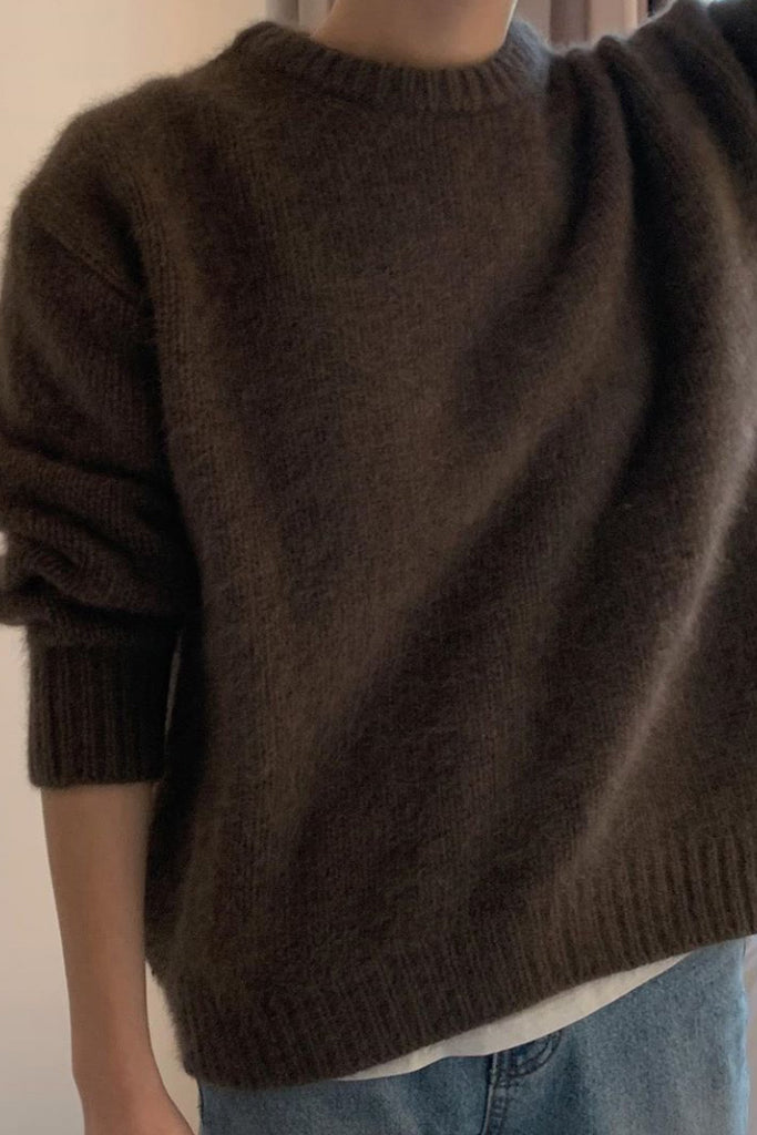 Raccoon Wool Sweater